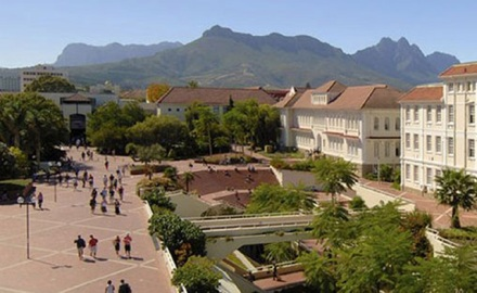 Stellenbosch Universiteit Red Plain square
