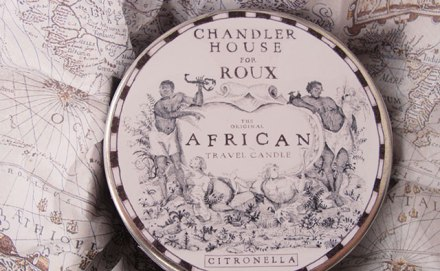 ROUX Original African Travel Candle for CoolHunting.com Quarterly Shipment #04